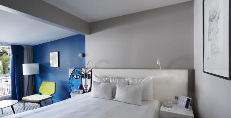 Hôtel Napoléon - Chambre côté montagne rénovée 2014