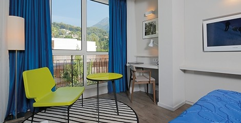 Hôtel Napoléon - Chambre montagne avec balcon
