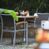 Hôtel Napoléon - Petit-Déjeuner dans le Jardin